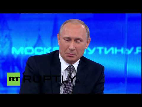 Russia: Watch the funny moments of Putin's annual Direct Line Q&A session