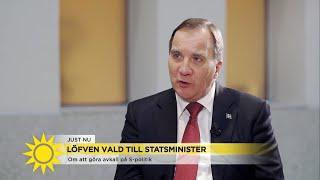 """Löfven (S): """"Jag har ingen illusion om att detta kommer bli lätt"""" - Nyhetsmorgon (TV4)"""