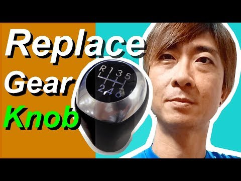 How to Replace Hyundai Manual Gear Shifter Knob 6MT ( Accent / Solaris model )