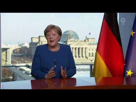 TV-Ansprache Von Bundeskanzlerin Angela Merkel Zur Corona-Krise (18.03.2020)