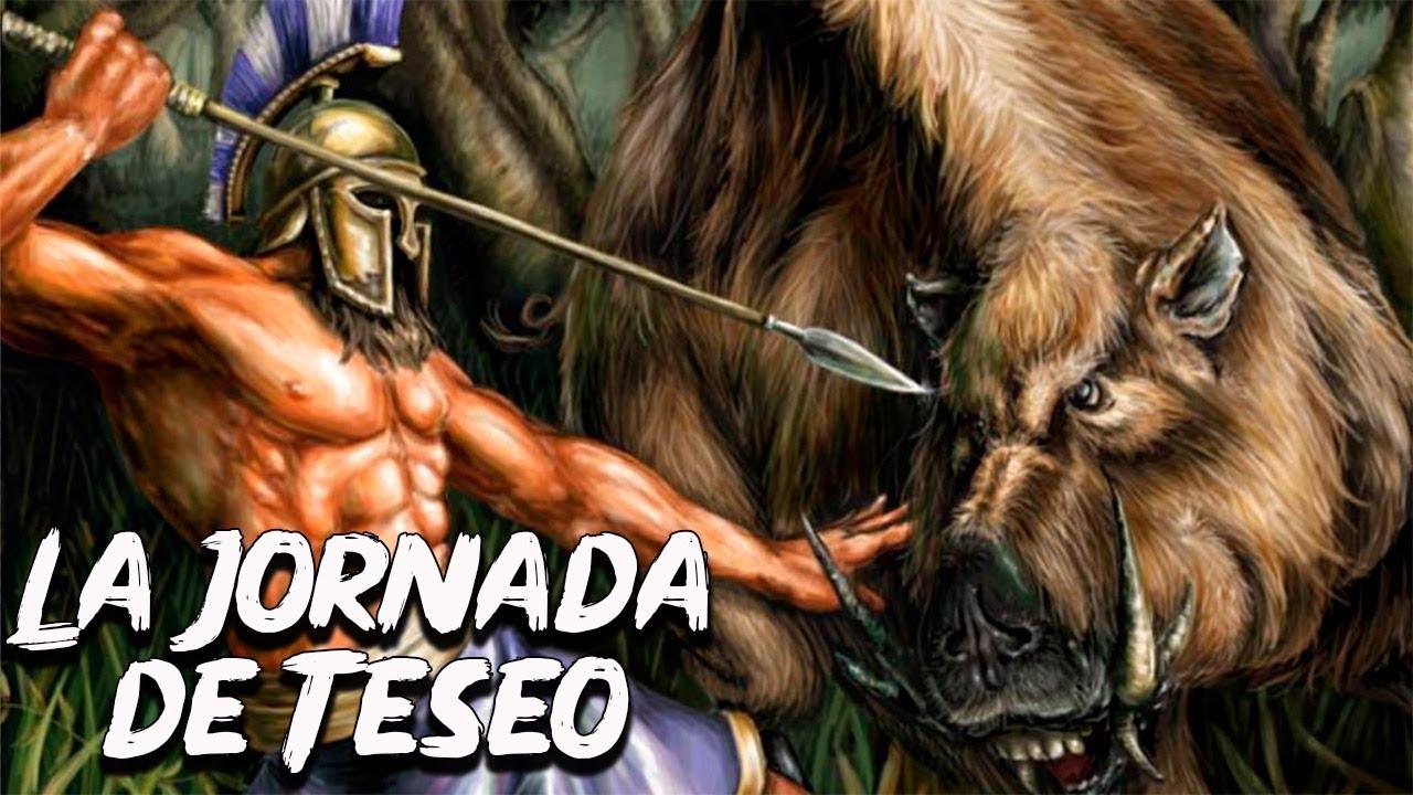 La Jornada de Teseo - Parte 2/3 - Mitología Griega - Mira la Historia