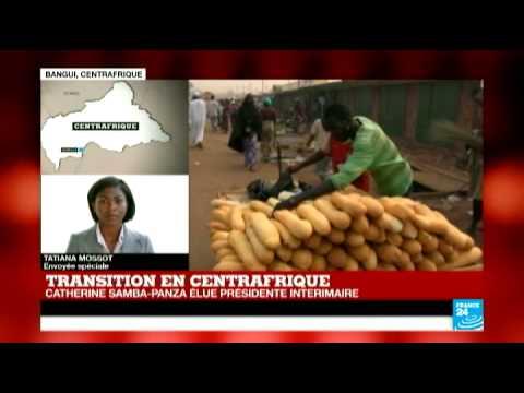 "RCA : Catherine Samba-Panza, ""maire courage"" de Bangui, élue présidente intérimaire"