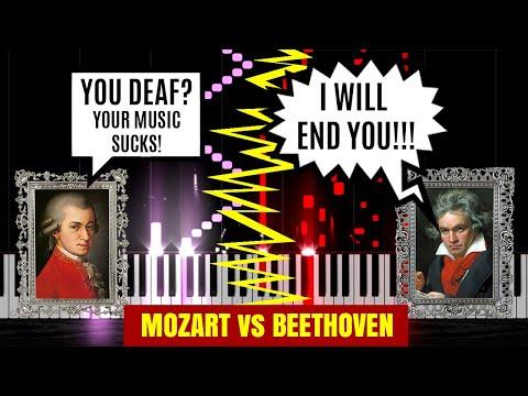 Epic Piano Battles of History: Mozart vs Beethoven
