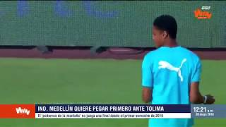 Liga Aguila 2018-I Tolima vs Medellín Semifinal Ida