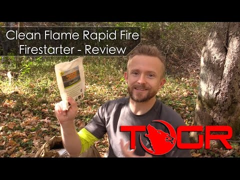 Could be Better! - Clean Flame Rapid Fire Firestarter - Review