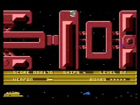 Thunderfox - Atari 8-bits gameplay