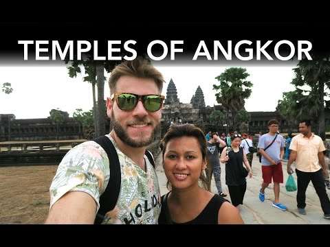 THE ANCIENT TEMPLES OF ANGKOR | TRAVEL VLOG