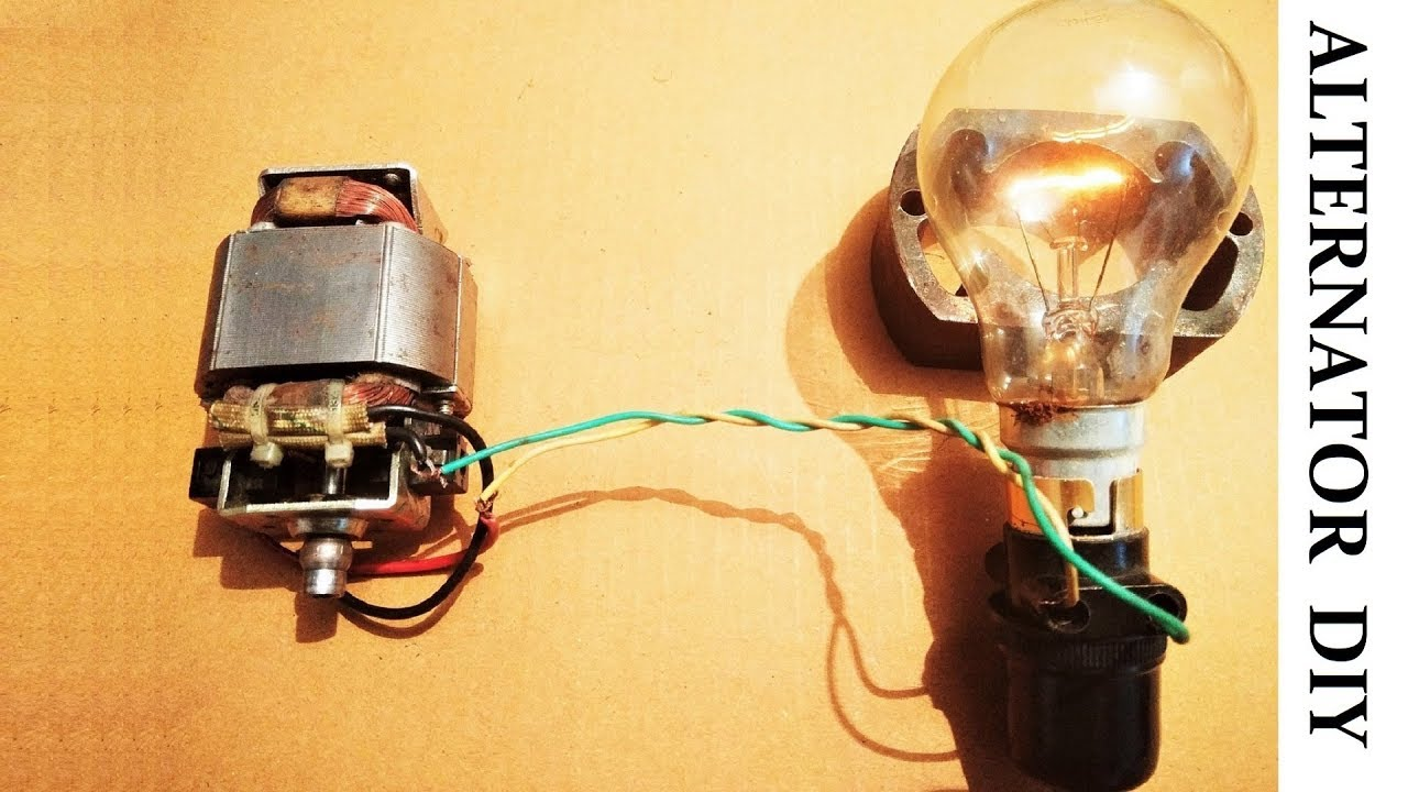 Amazing Idea For Making Ac Generator Diy Youtube Cummins Generator Wiring Diy Ac Generator Wiring