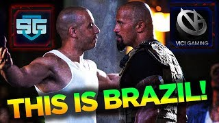 THIS IS BRAZIL! First Time in Dota 2 History! - Brazil vs China on LAN