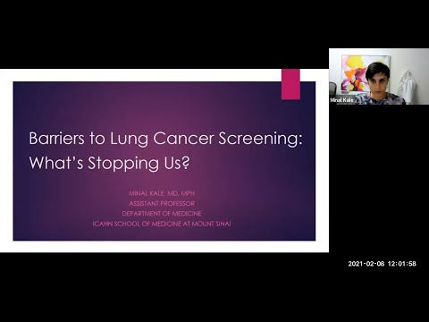 Barriers To Lung Cancer Screening: What's Stopping Us?