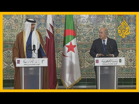 أمير قطر في أول زيارة للجزائر منذ تولي الرئيس عبد المجيد تبون  - نشر قبل 4 ساعة
