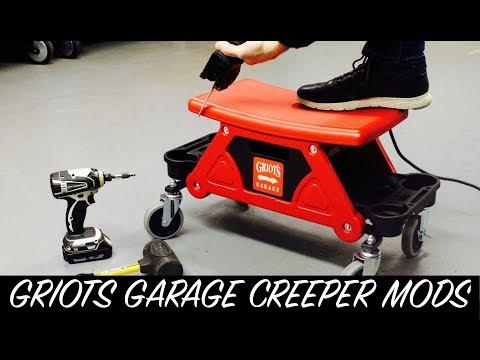 Griots Garage Creeper Seat Modified | Auto Fanatic