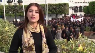 تصاعد الاحتجاجات  في تونس على موازنة 2017