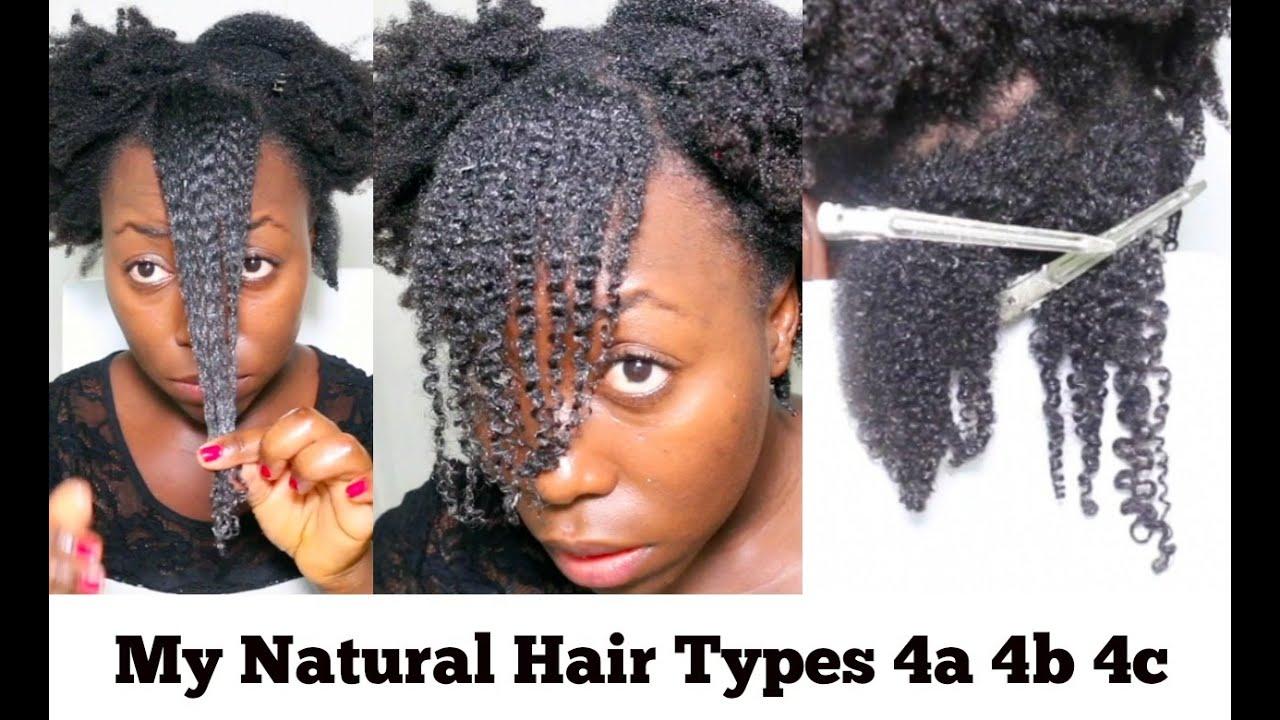 My Natural Hair Curl Pattern Kinky Coily Hair Type 4c 4b