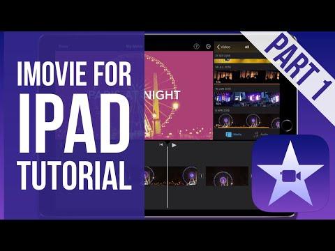 How to edit videos on imovie on ipad
