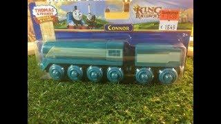 desempacar juguetes El tren de madera De Thomas y sus amigos Connor (03867 es)