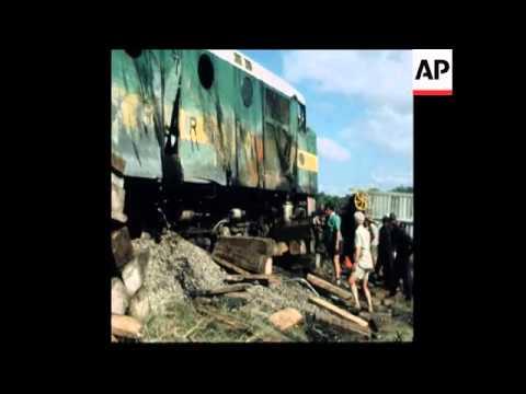 SYND 2 4 79 GUERRILLAS DERAIL ZAMBIAN COPPER TRAIN