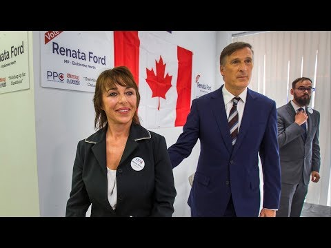 WARMINGTON: Maxime Bernier kicks off campaign in Ford Nation