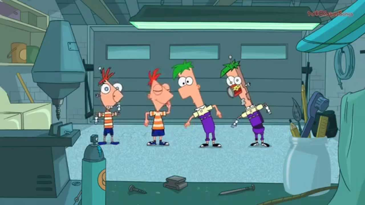 Phineas And Ferb Guitar: Phinedroids And Ferbots Chords