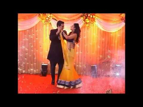 Ricky & Yasmine sangeet dance