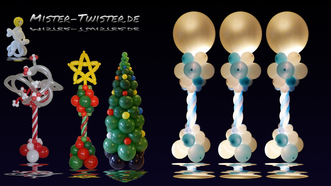 Christmas Balloon Decorating Ideas