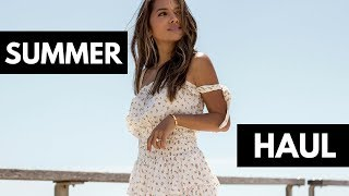 Spring & Summer Haul 2018 | Zara, Revolve, Kylie Cosmetics, and MORE!!!