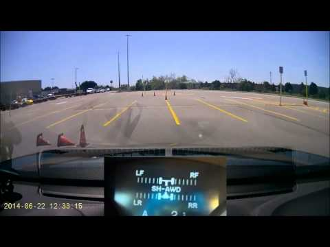 2014 PITL Event #3 Run 3 - Torque Vectoring in Action - Acura TL SH-AWD
