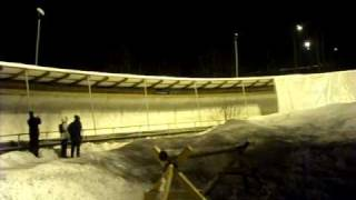 Terra Nova Scandinavia : Bobsledding in Norway/Lillehammer - winter 2009
