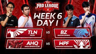 RoV Pro League Season 4 | Week 6 Day 1