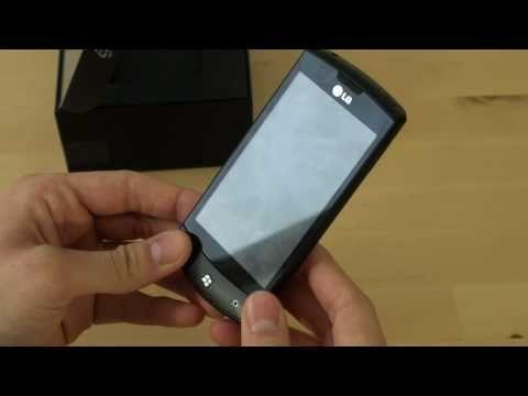 LG Optimus 7 Test Erster Eindruck
