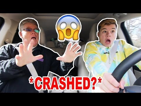 My Dad Teaches Me How To Drive! *BAD IDEA*