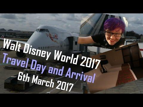 Disney World 2017 - Travel Day and Arrival at Disney's Caribbean Beach Resort!
