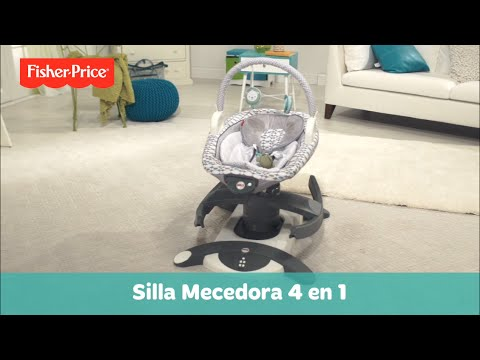 fisher price silla mecedora 4 en 1 youtube