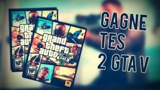DEUX JEUX GTA V : PC A GAGNER GRATUITEMENT