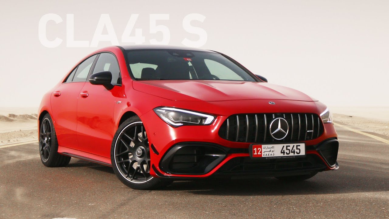 اقوى محرك اربع اسطوانات في العالم! مرسيدس - Mercedes CLA45s
