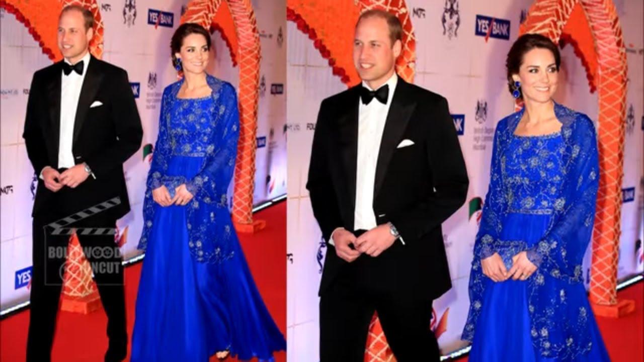 Kate Middleton S Wardrobe Malfunction In Indian Youtube