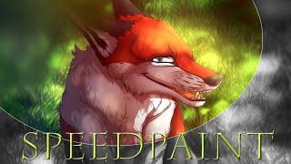 Dancin in the light of the woods - Speedpaint