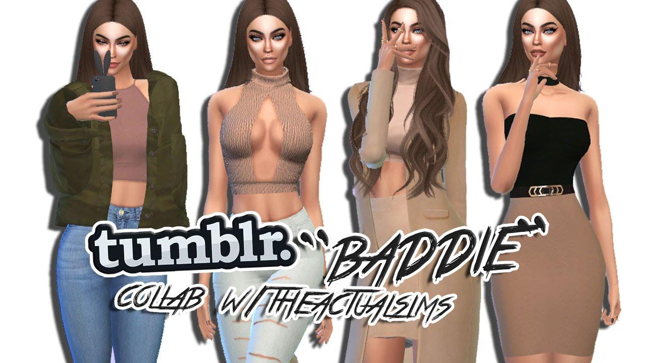 Sims 4: Tumblr Girl