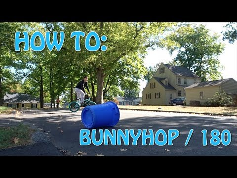 HOW TO BUNNYHOP & 180 | BMX tutorial