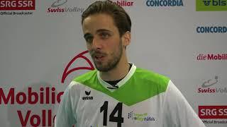 """""""Unsere Fans haben für eine unglaubliche Stimmung gesorgt"""" - Samuel Ehrat von Biogas Volley Näfels"""