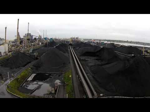 IJmuiden Tata steel by drone