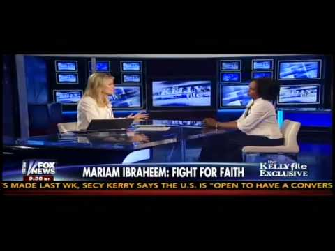 Meriam Ibrahim Discusses How Her Faith Helped Her During Her Imprisonment in a Sudanese Jail