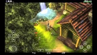 PPSSPP Emulator 0.9.8 for Android | Brave Story: New Traveler [720p HD] | Sony PSP