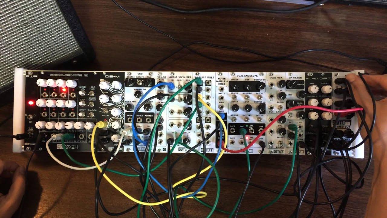 synthrotek mst 104hp eurorack modular synthesizer system demo for tokyo modular festival youtube. Black Bedroom Furniture Sets. Home Design Ideas