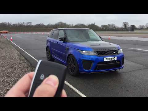 Range Rover Sport SVR MY 2018 V8 Supercharged 575 HP Walkaround - In Drive - Exhaust