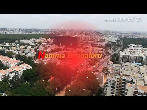 Bangalore City Arial view & Tallest Building-2018