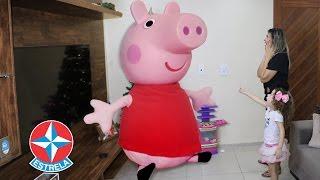Top 5 brinquedos da Estrela preferidos - Peppa pig fica gigante