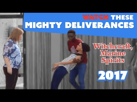 Watch these Mighty Deliverances Witchcraft, lust, Marine Spirits, Death etc..