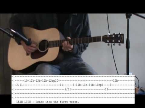Jimi Hendrix All Along The Watchtower Acoustic Guitar Lesson - Tab ...