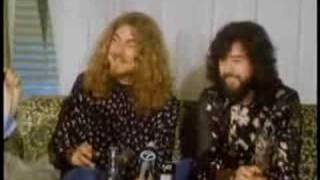Jimmy Page & Robert Plant Interview - New York - 1970